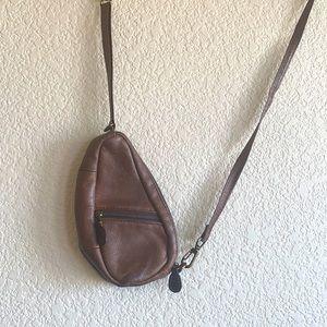 L.L. Bean Ameri Bag mini bag brown leather